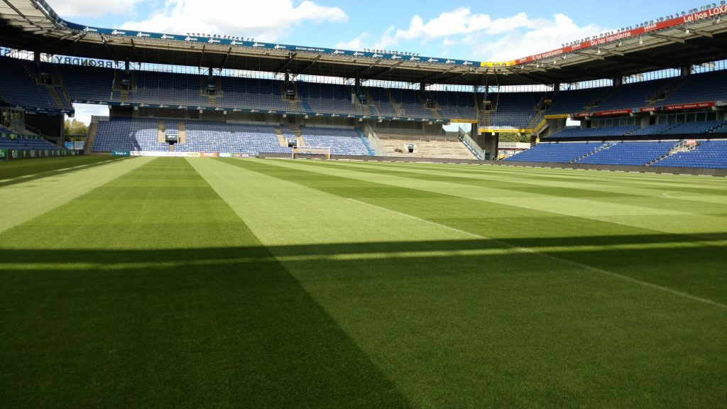 Brondby football pitch