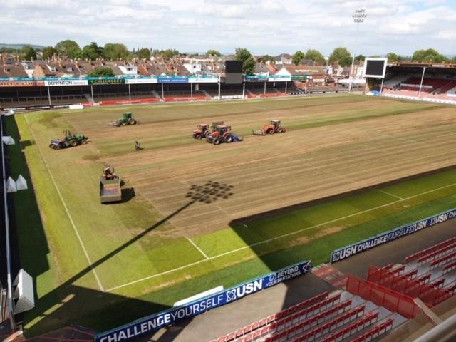 pitch renovations