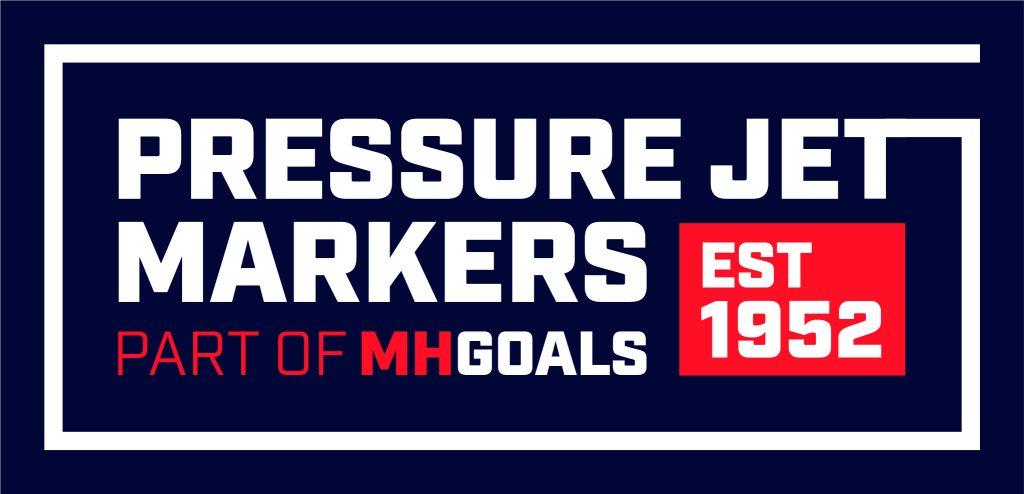 Pressure Jet Markers Logo blue