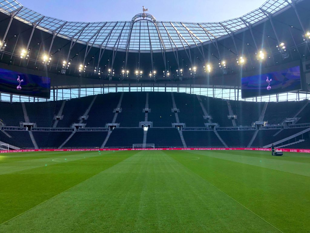 spurs football pitch