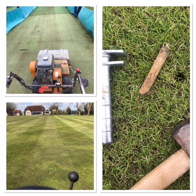 groundsman tasks