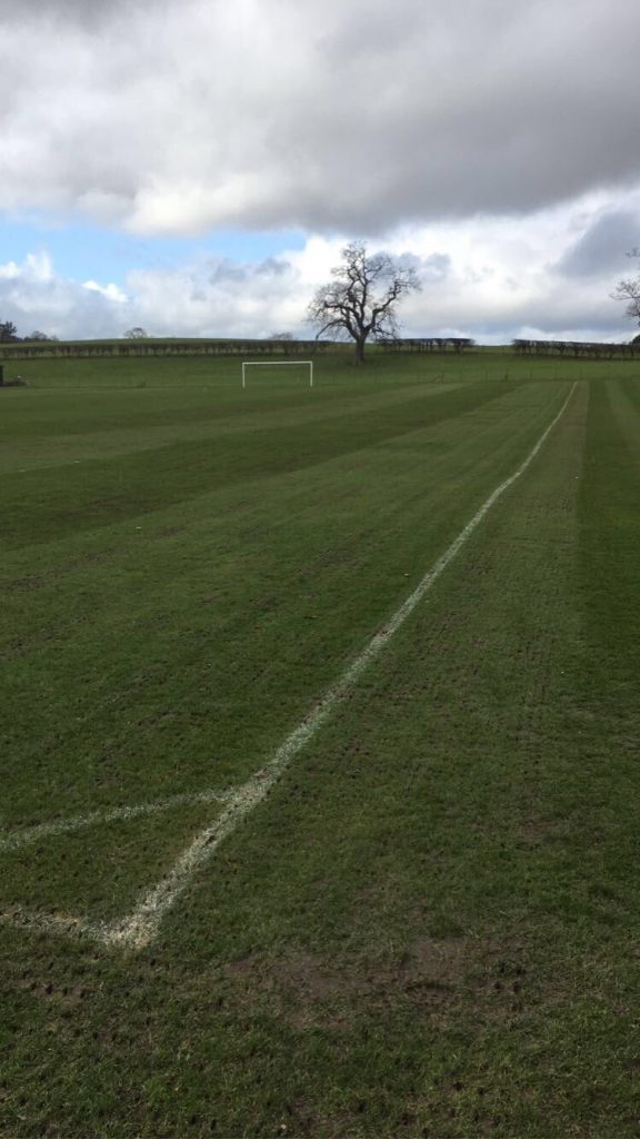 pitch aerated
