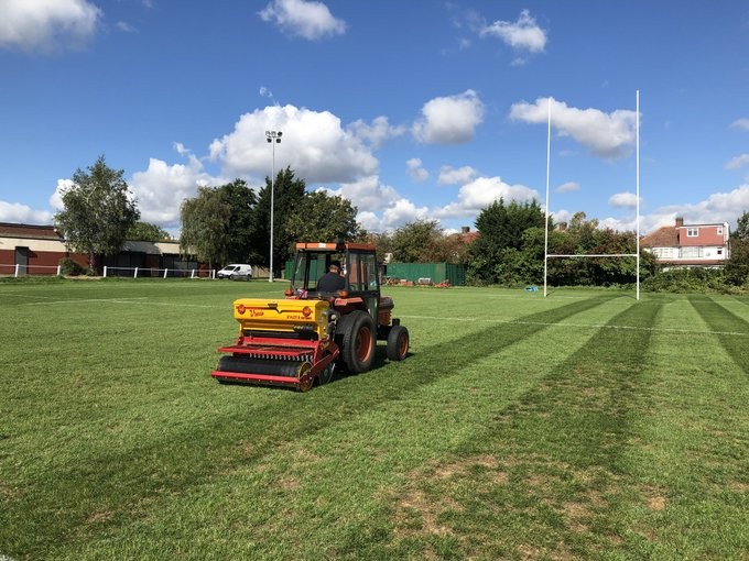 overseeding of pitch