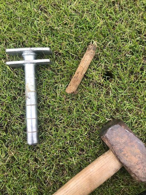Cricket pitch soil profile